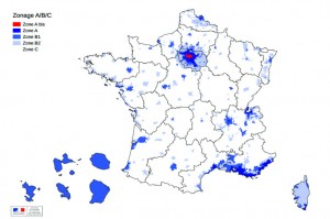Contrat de location - zones tendues